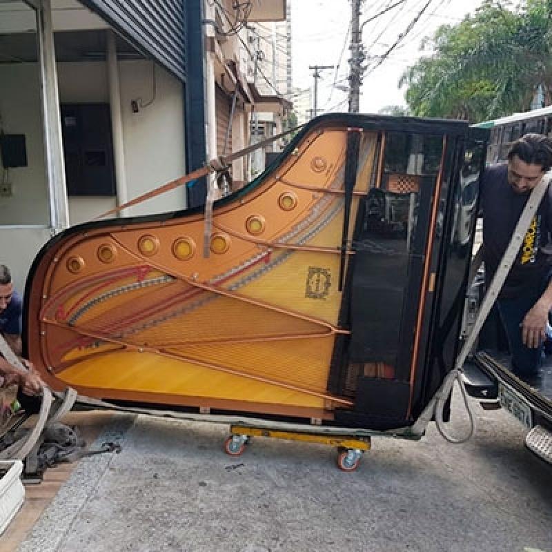 Empresas de Transporte de Piano Cauda Bairro do Limão - Transporte de Piano de Cauda