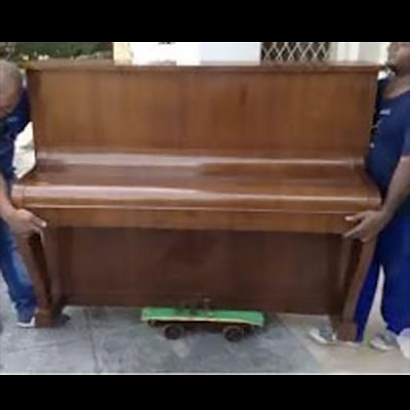 Empresas de Transporte de Piano Vertical Bairro do Limão - Transporte do Piano