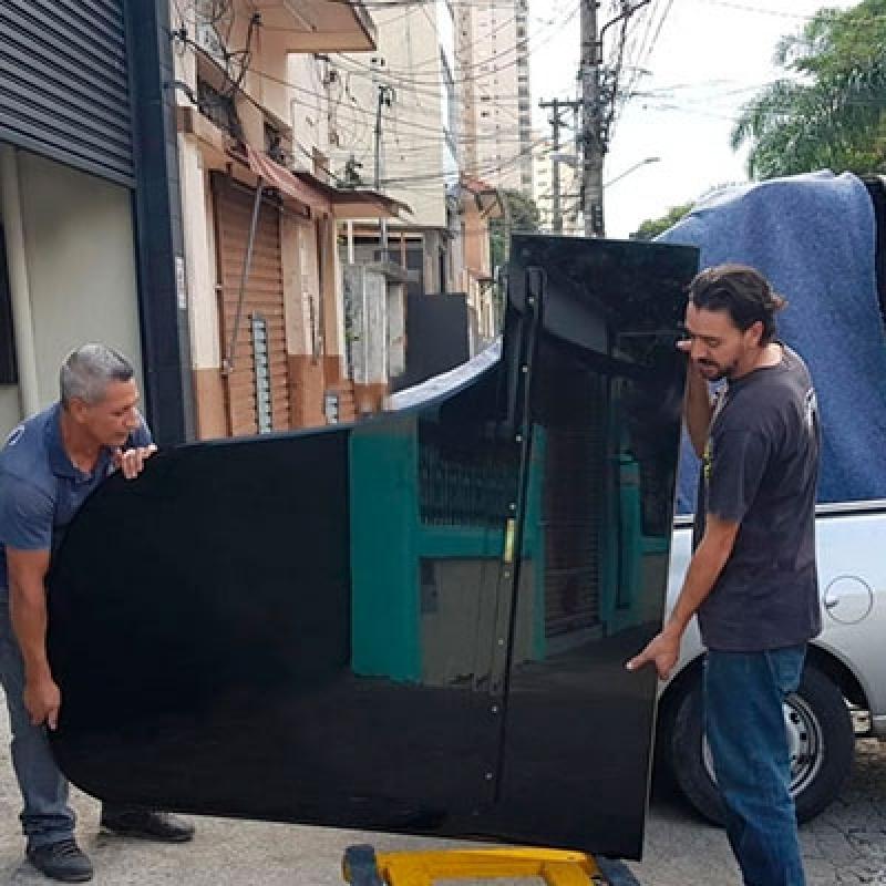 Empresas de Transporte do Piano Centro de São Paulo - Transporte Mudança Piano