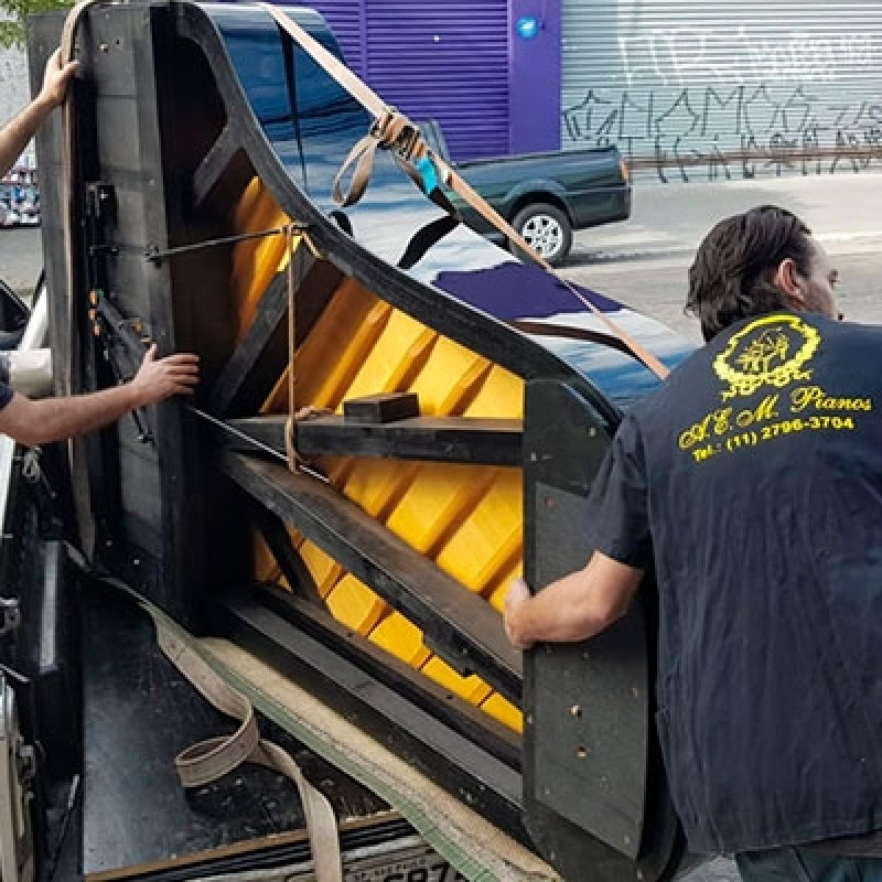 Empresas Que Fazem Transporte de Piano Cauda Água Espraiada - Transporte Mudança Piano
