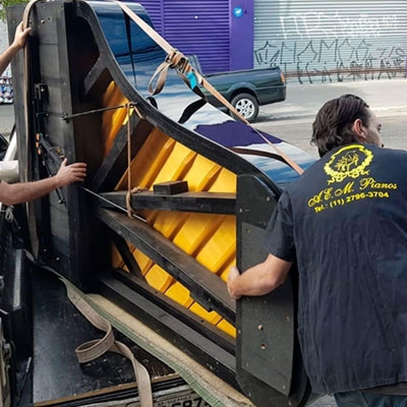 Empresas Que Fazem Transporte de Piano de Cauda Vila Gumercindo - Transporte Mudança Piano