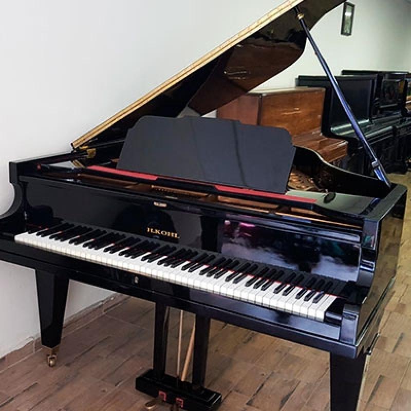 Locação de Piano Cauda Usado Ipiranga - Piano Cauda Branco