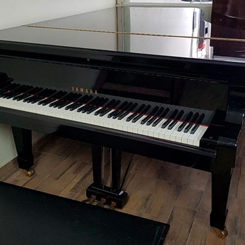 Locação de Piano de Cauda Inteira Jardim Paulistano - Piano Branco de Cauda