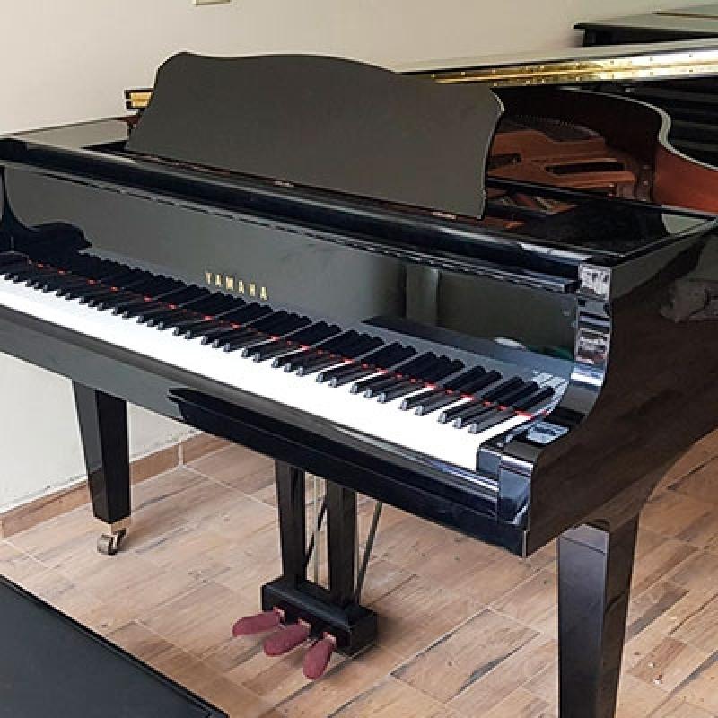 Locação de Piano de Cauda Pequeno Taboão da Serra - Piano Quarto de Cauda