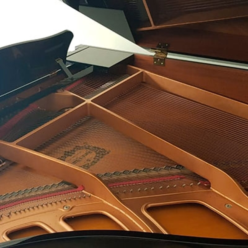 Locação de Piano Quarto de Cauda Belenzinho - Piano de Cauda Preto