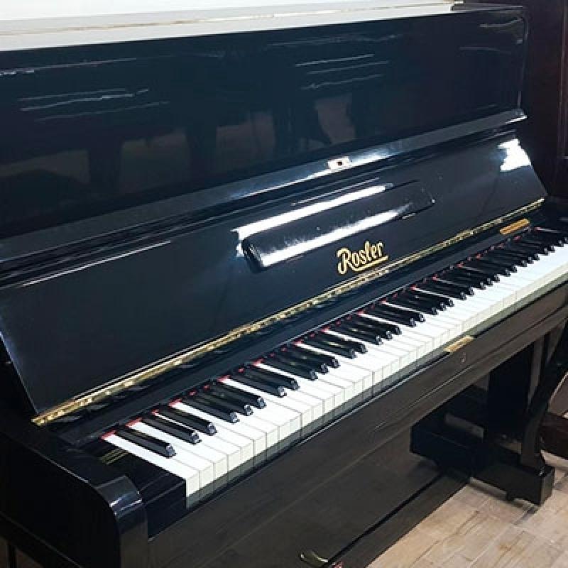 Loja de Piano Acústico Madeira Usado Parque Anhembi - Piano Vertical Acústico Usado