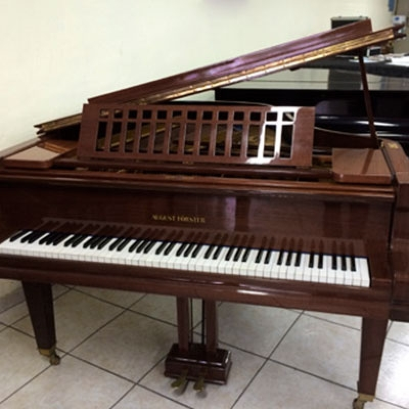 Loja de Piano de Cauda Usado Jabaquara - Piano Acústico Madeira Usado