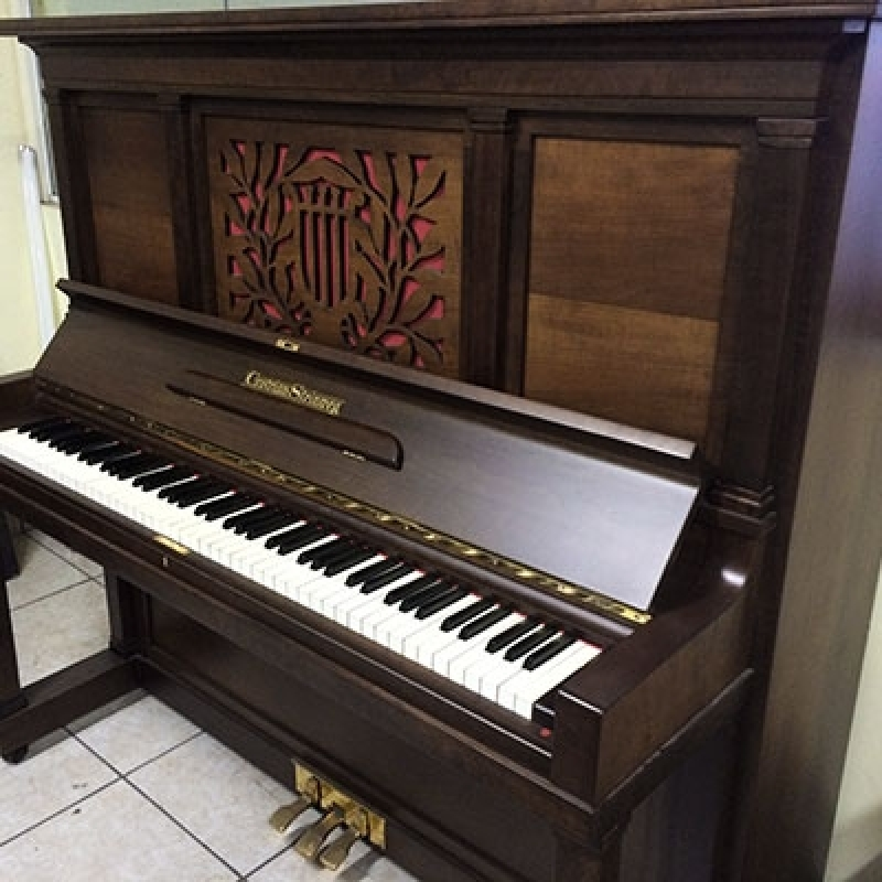 Onde Comprar Piano Cauda Usado Alemão Mogi das Cruzes - Piano Acústico Madeira Usado