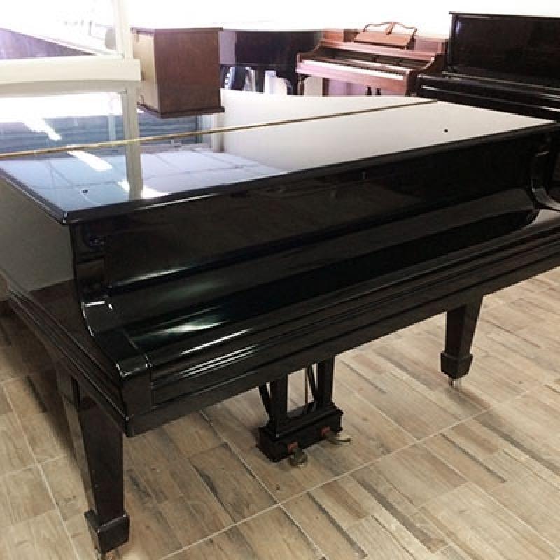 Onde Vende Piano Cauda Usado Interlagos - Piano Branco de Cauda