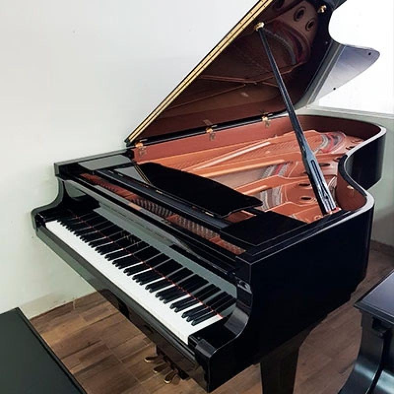 Onde Vende Piano de Cauda Inteira Santa Efigênia - Piano Cauda Branco
