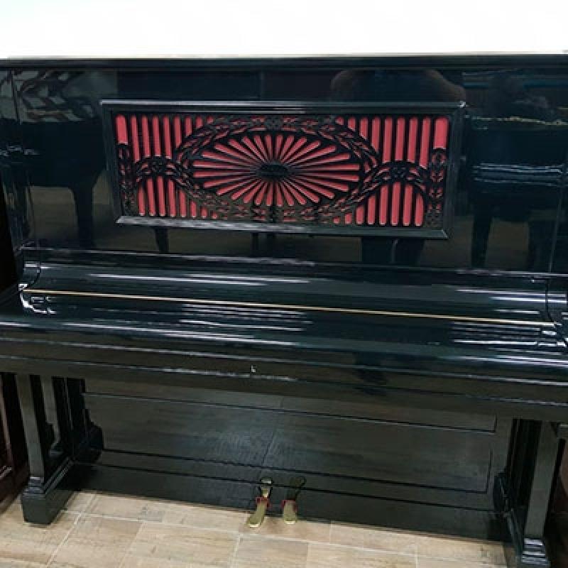 Piano Acústico Alemão Valores Bom Retiro - Piano Antigo Acústico