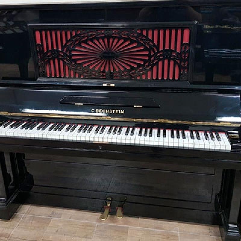 Piano Acústico Alemão Mairiporã - Piano de Madeira Acústico