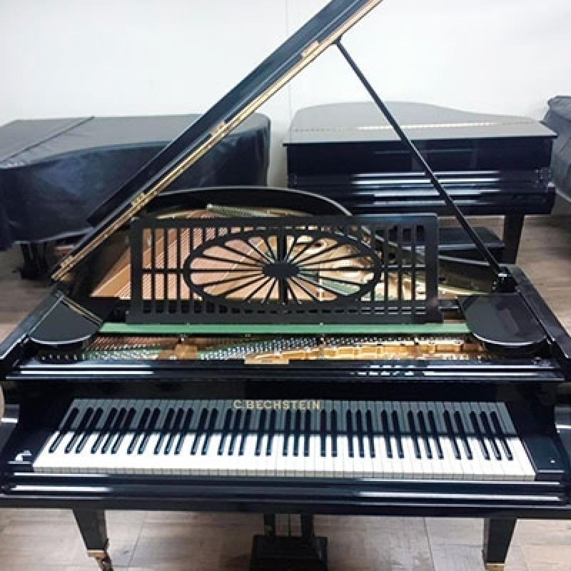 Piano Acústico Antigo de Cauda Valores Chácara Kablin - Piano de Madeira Acústico