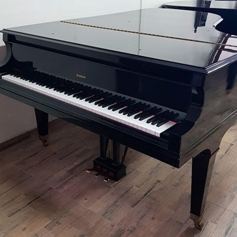 Piano Acústico Cauda Jardim Paulista - Piano Antigo Acústico de Madeira