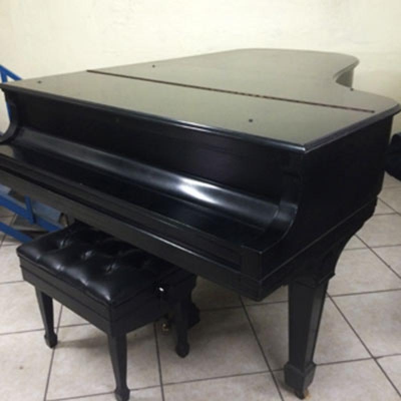 Piano Acústico de Cauda Itaquera - Piano Cauda Longa