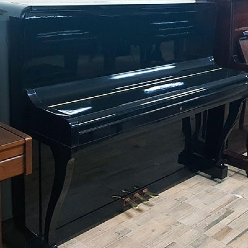 Piano Acústico Madeira Usado Consolação - Piano Vertical Usado