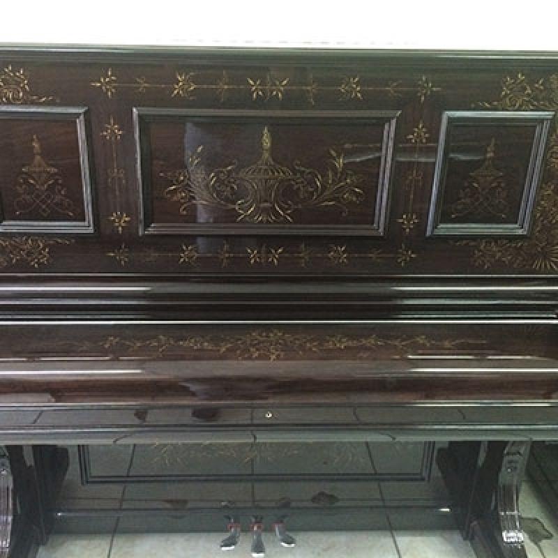 Piano Acústico Vertical Bixiga - Piano Antigo Acústico