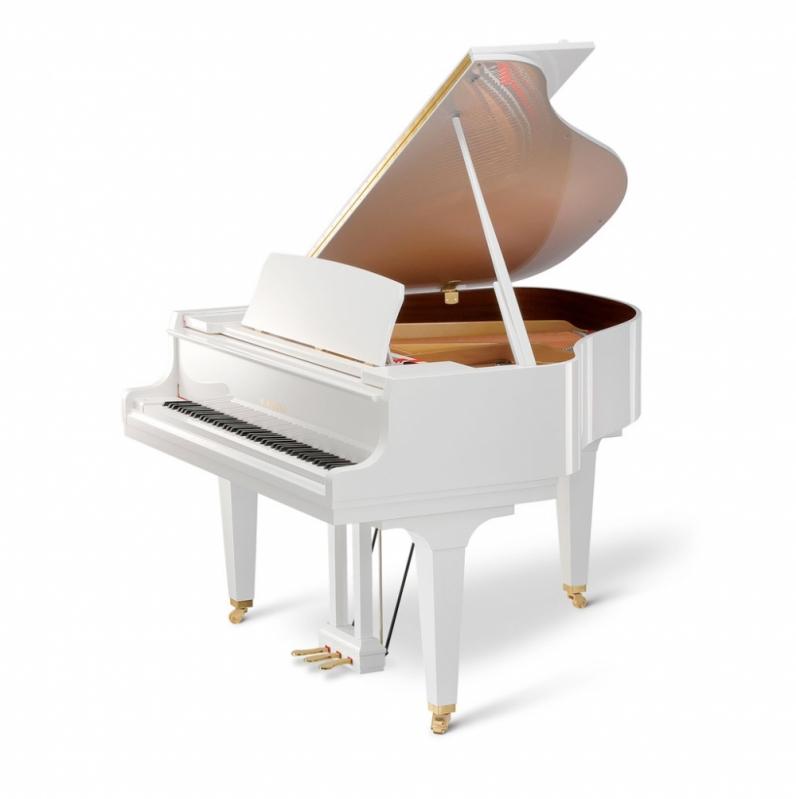 Piano Cauda Branco Vila Medeiros - Piano Cauda Branco