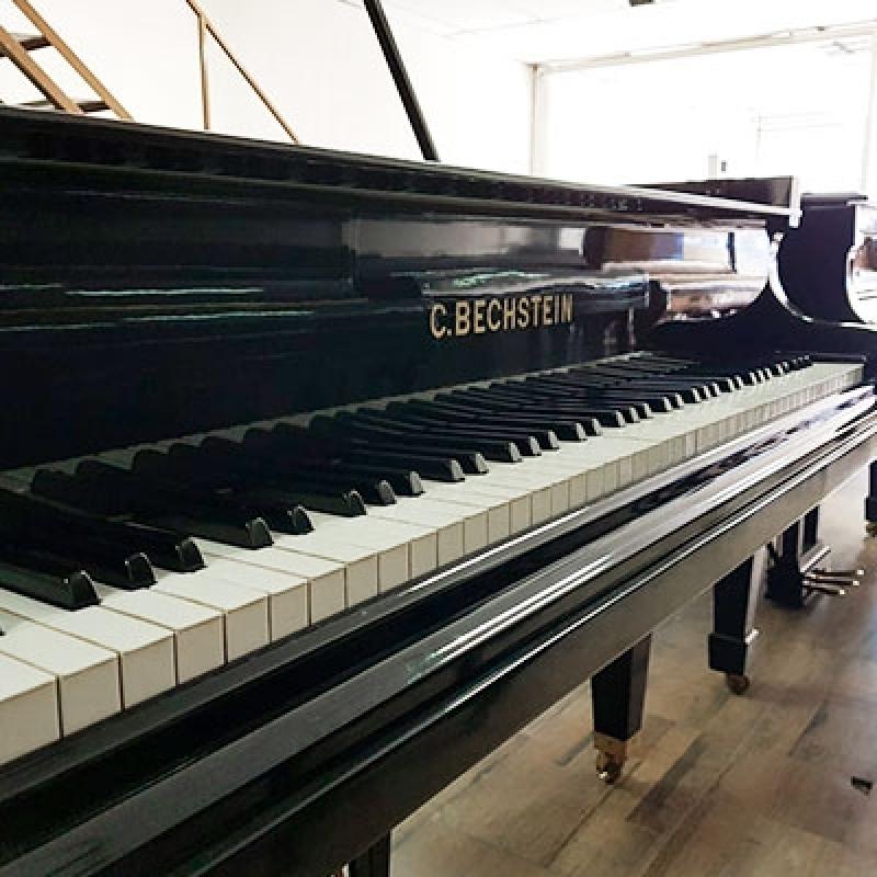 Piano de Cauda Preto Casa Verde - Piano de Meia Cauda