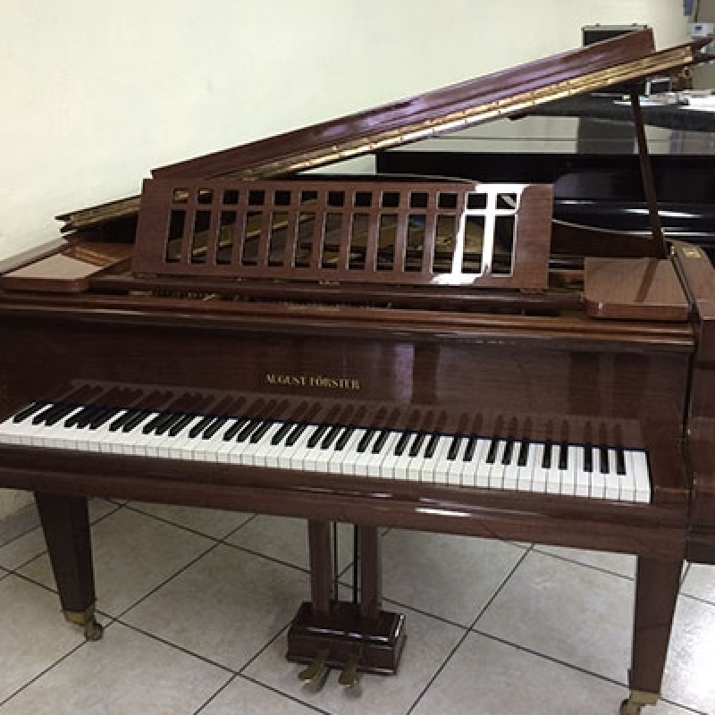 Piano Usado Antigo Pacaembu - Piano Acústico Madeira Usado