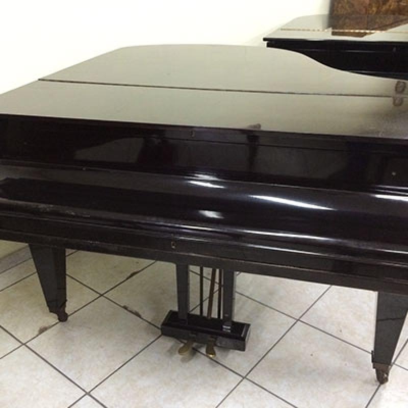 Piano Usado de Cauda Valores Vila Romana - Piano Acústico Madeira Usado