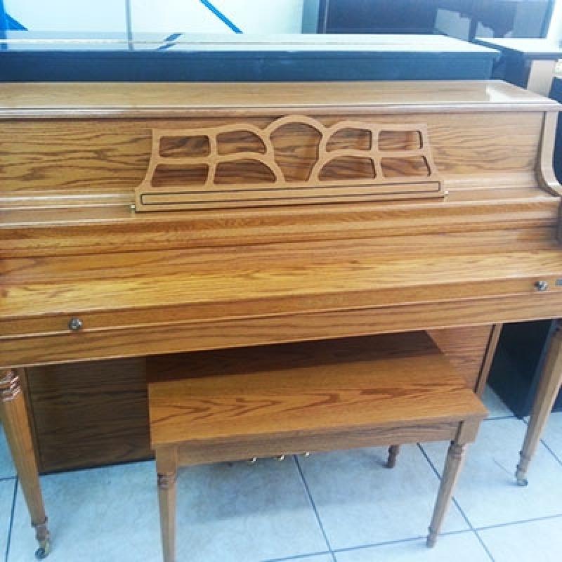 Piano Usado Vertical Alphaville - Piano de Cauda Usado