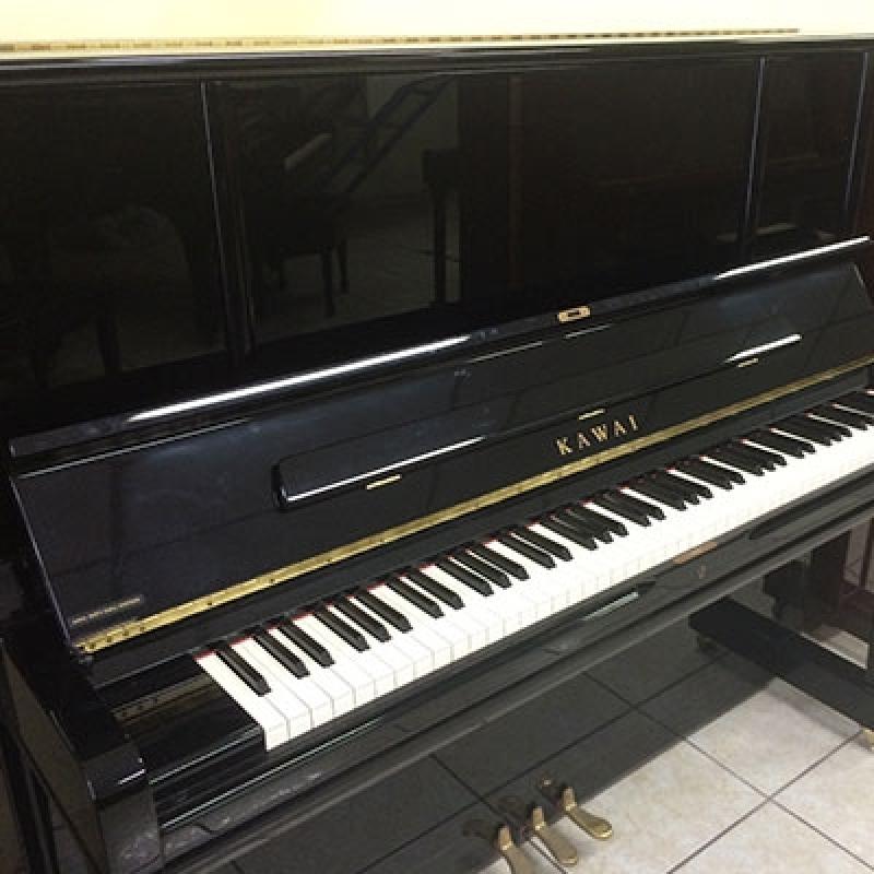 Pianos Acústicos Verticais Brás - Piano Antigo Acústico de Madeira