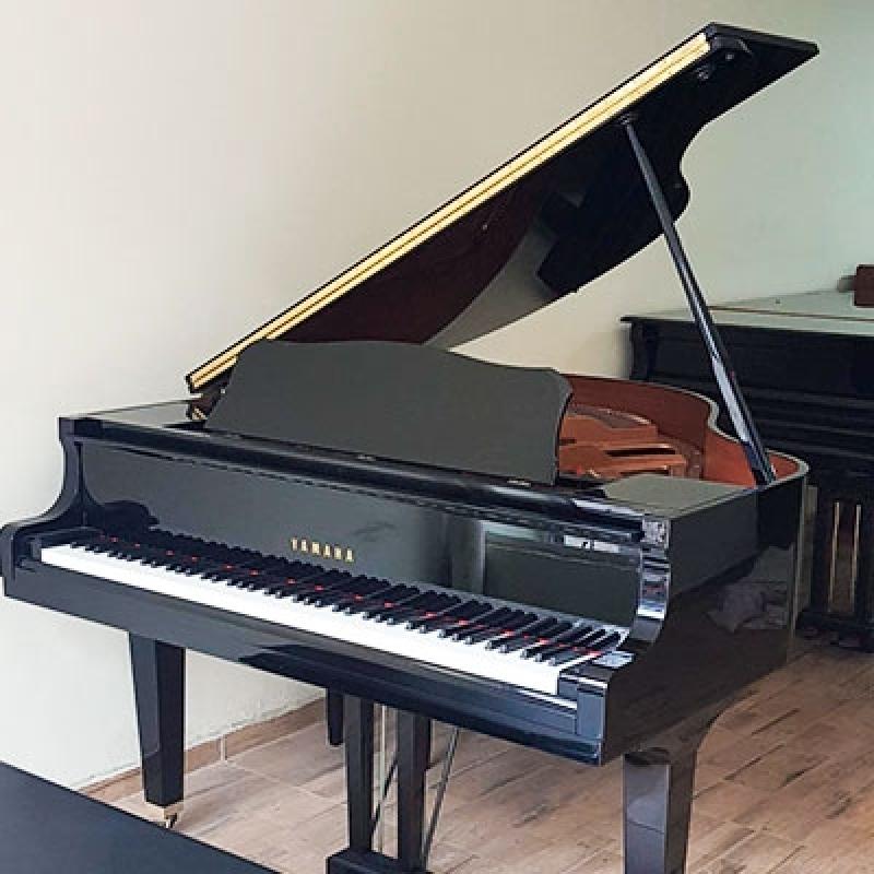 Pianos de Caudas Pequenos Barueri - Piano de Cauda Preto