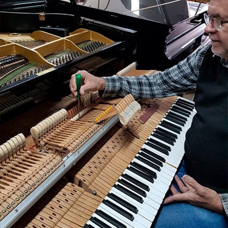 Quem Faz Conserto de Piano Antigo Bairro do Limão - Piano Acústico de Armário