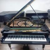 piano acústico de cauda antigo