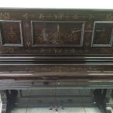 piano antigo acústico de madeira Ipiranga