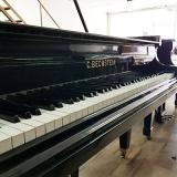 piano de cauda preto Cerqueira César