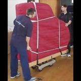 transporte para mudança de piano