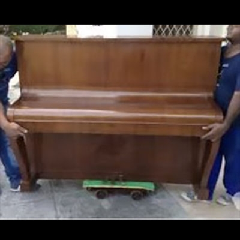 Transporte de Piano Alemão Vila Nova Conceição - Transporte de Piano Cauda