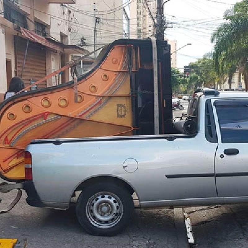 Transporte do Piano Alto da Lapa - Transporte Mudança Piano